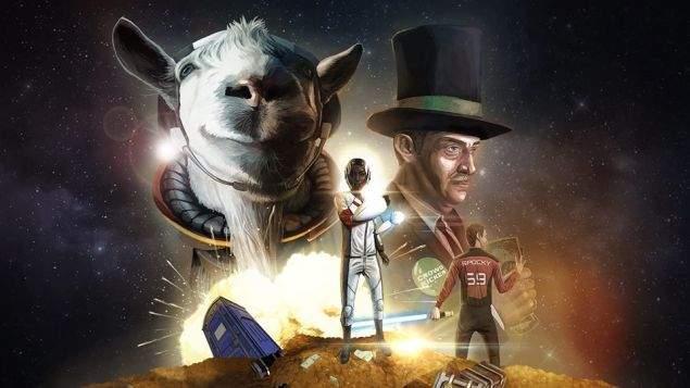 《模擬山羊:太空廢物》手機版 奇葩山羊飛向宇宙浩瀚無垠 - 圖片1